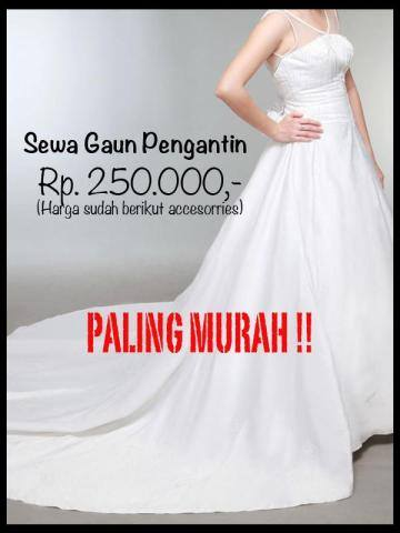 Sewa Gaun Pengantin Am Bridal Photography